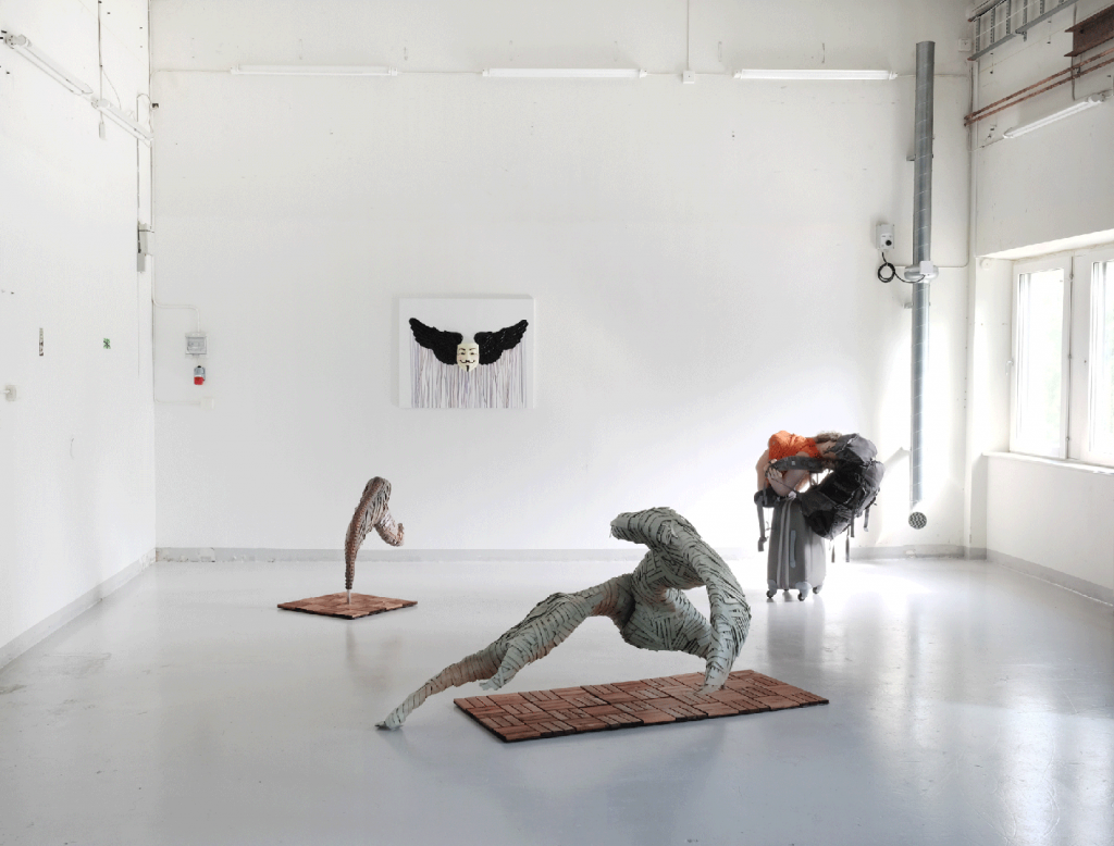 Installation view, 2