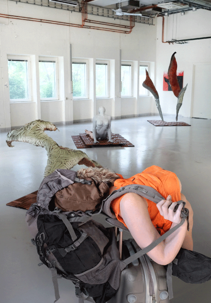 Installation view, 6